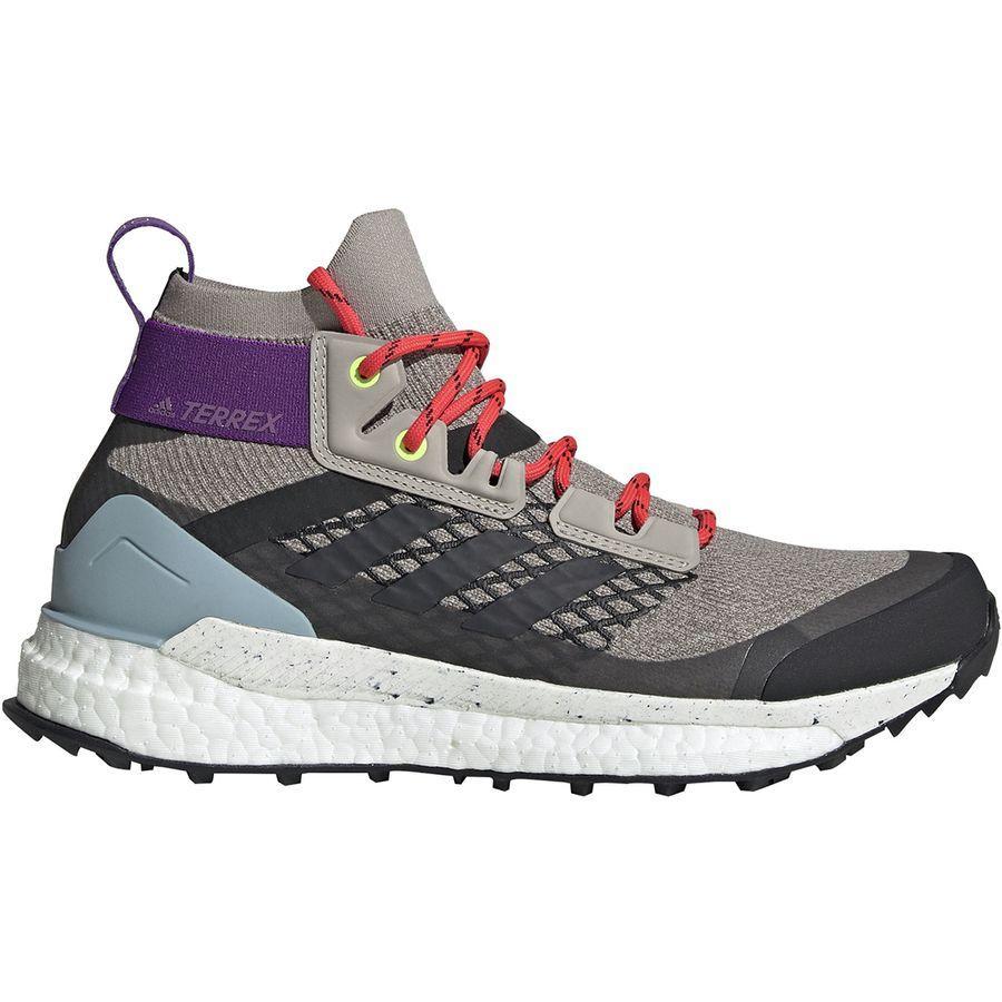 (取寄)アディダス レディース アウトドア テレックス フリー ハイカー ブーツ Adidas Women Outdoor Terrex Free Hiker Boot Light Brown/Simple Brown/Ash Grey