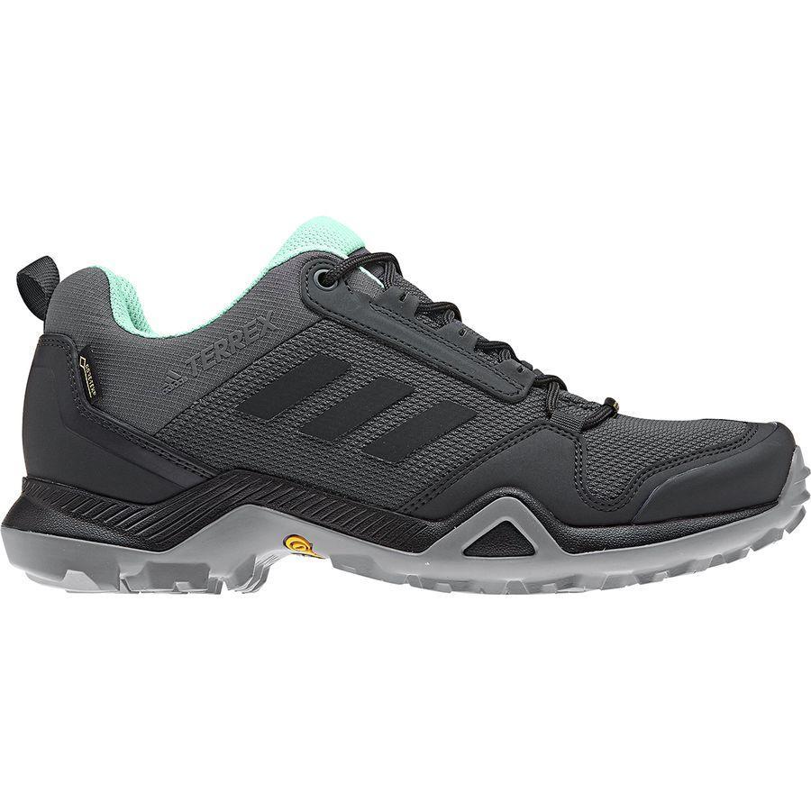 (取寄)アディダス レディース アウトドア テレックス AX3Gtx ハイキングシューズ Adidas Women Outdoor Terrex AX3 GTX Hiking Shoe Grey Five/Black/Clear Mint
