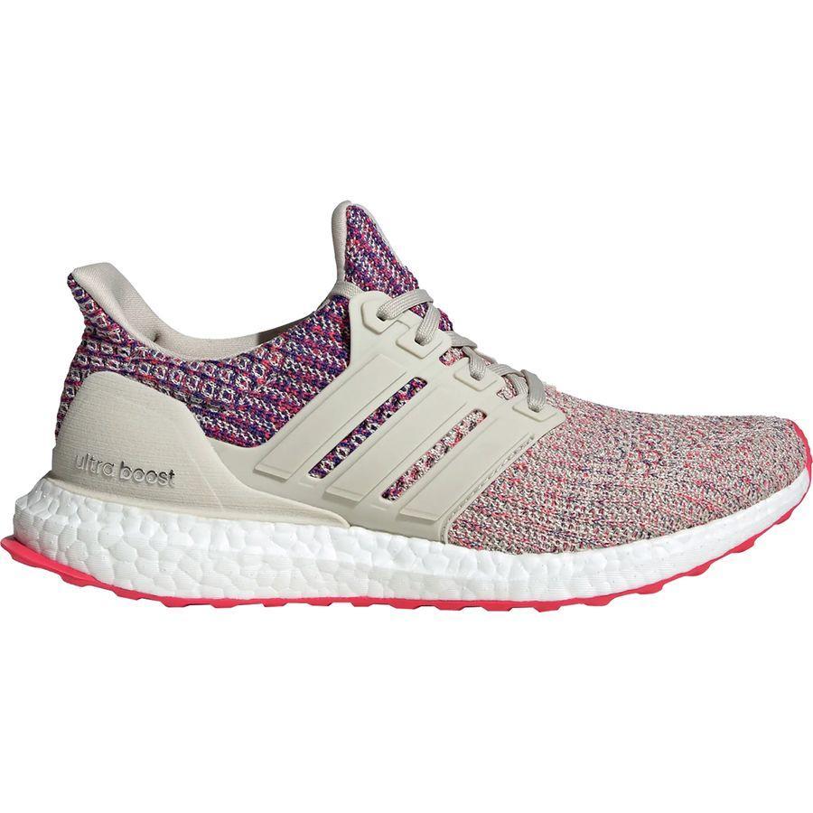 (取寄)アディダス レディース ウルトラブースト 18 ランニングシューズ Adidas Women Ultraboost 18 Running Shoe Clear Brown/Shock Red/Active Blue
