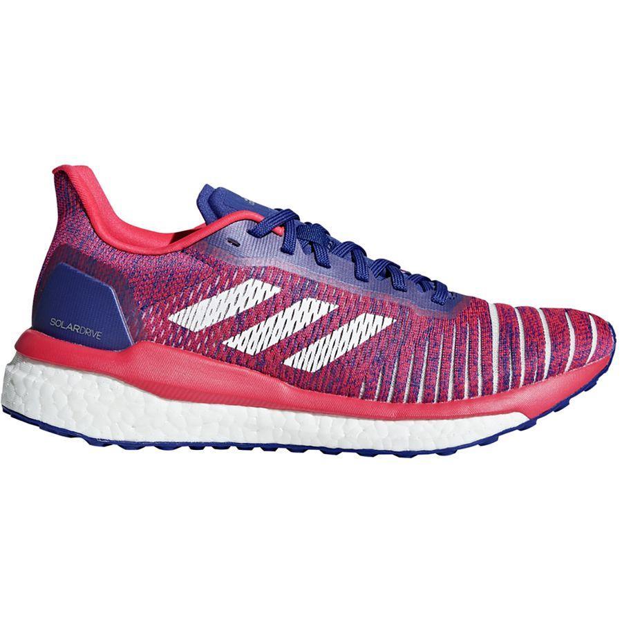 (取寄)アディダス レディース ソーラー ドライブ ランニングシューズ Adidas Women Solar Drive Running Shoe Active Blue/Footwear White/Shock Red