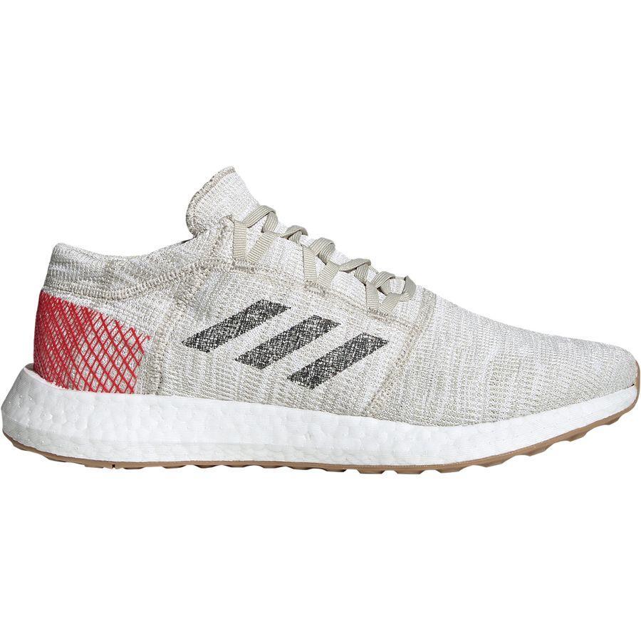 (取寄)アディダス メンズ ピュアブースト ゴー ランニングシューズ Adidas Men's Pureboost GO Running Shoe Clear Brown/Carbon/Active Red
