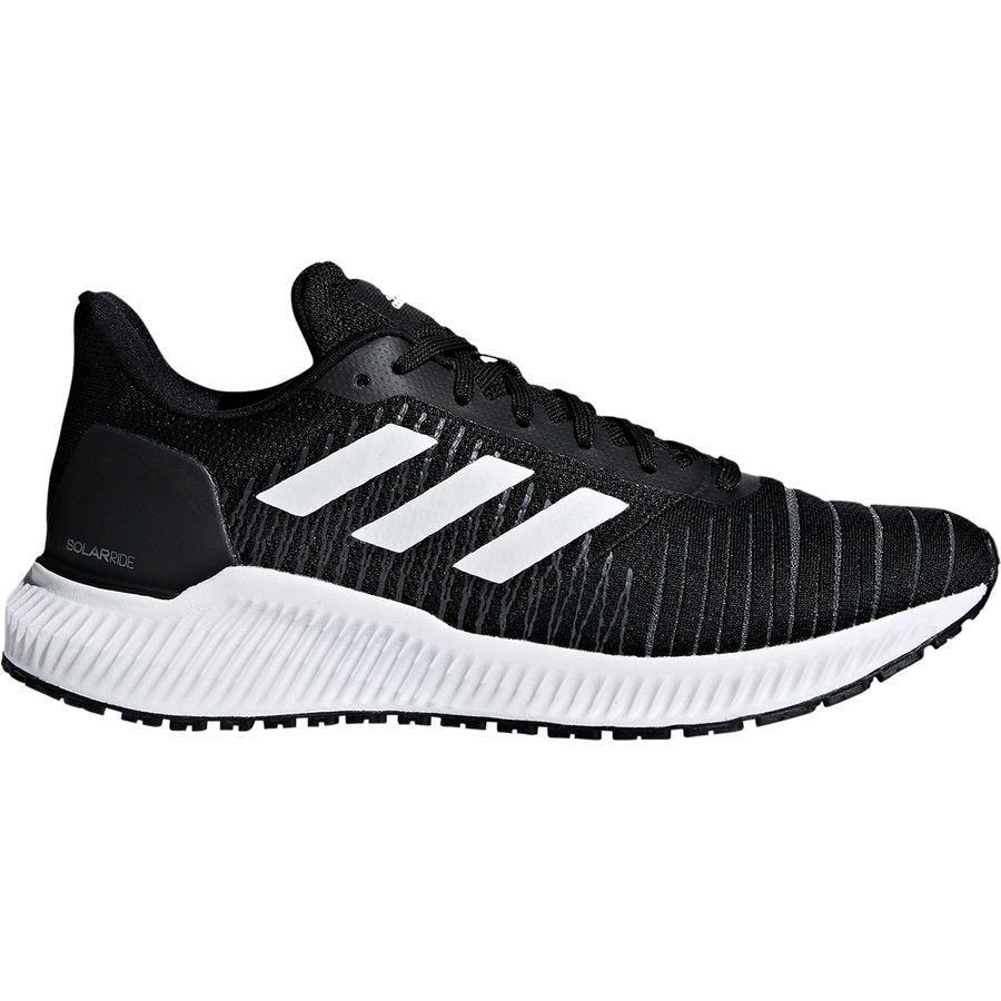 (取寄)アディダス レディース ソーラー ライド ランニングシューズ Adidas Women Solar Ride Running Shoe Core Black/Footwear White/Grey Five