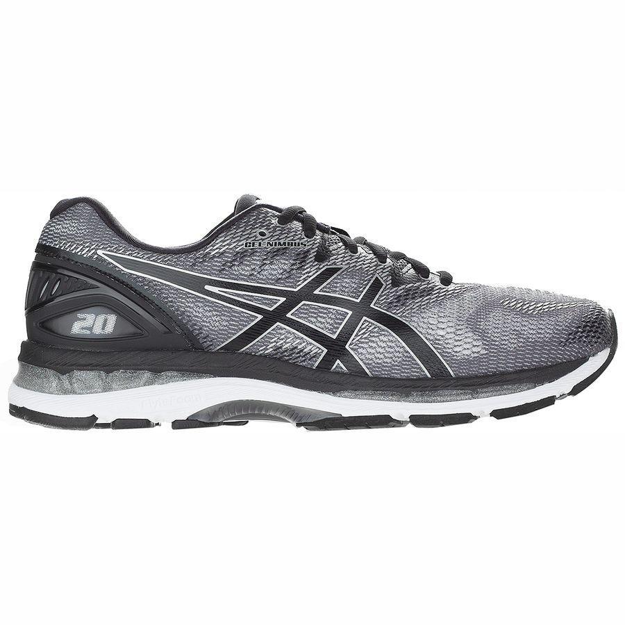 (取寄)アシックス メンズ Gel-Nimbus20 ランニングシューズ Asics Men's Gel-Nimbus 20 Running Shoe Carbon/Black/Silver