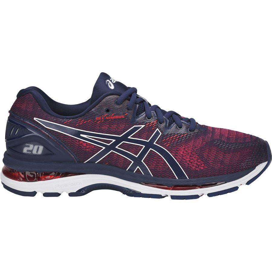 (取寄)アシックス メンズ Gel-Nimbus20 ランニングシューズ Asics Men's Gel-Nimbus 20 Running Shoe Indigo Blue/Indigo Blue/Fiery