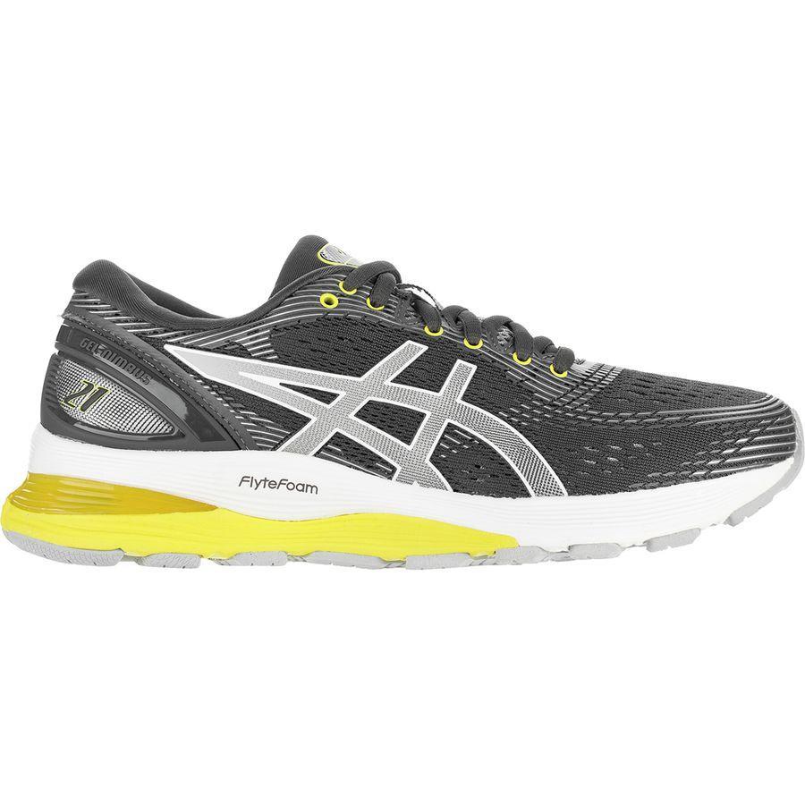 (取寄)アシックス レディース Gel-Nimbus21 ランニングシューズ Asics Women Gel-Nimbus 21 Running Shoe Dark Grey/Mid Grey