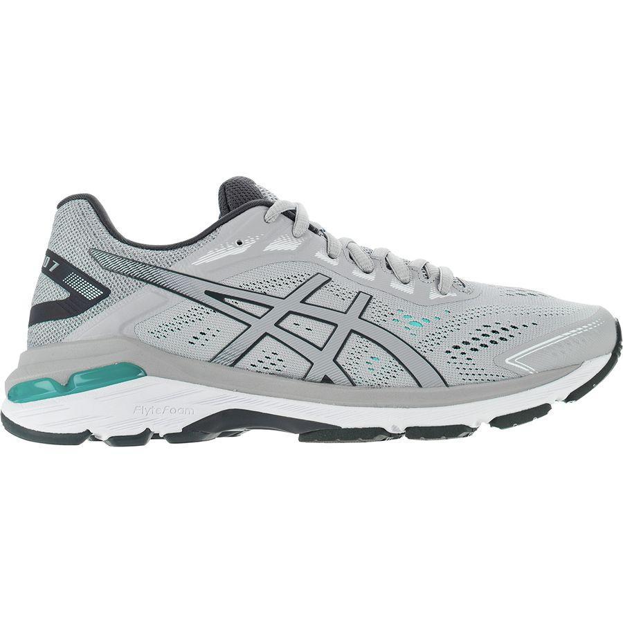 (取寄)アシックス レディース GT-20007 ランニングシューズ Asics Women GT-2000 7 Running Shoe Mid Grey/Dark Grey