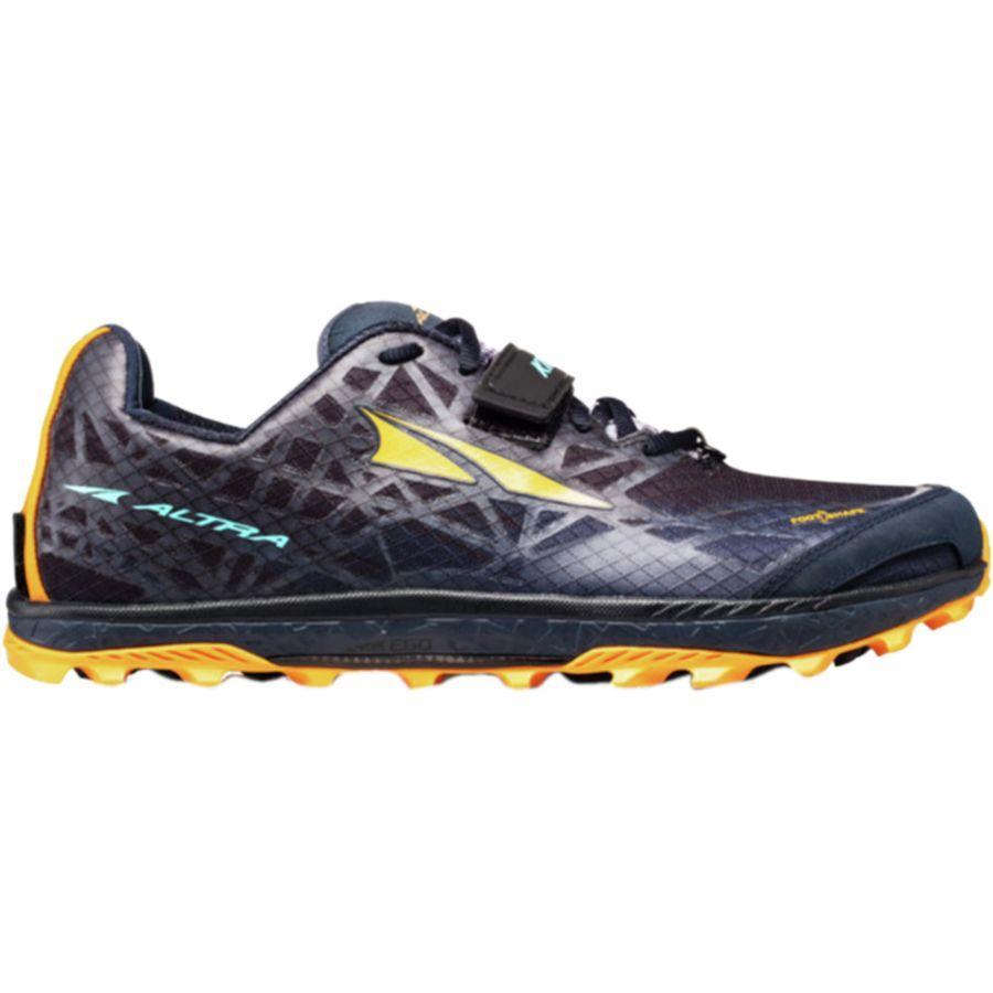 (取寄)アルトラ メンズ キング MT 1.5トレイル ランニングシューズ Altra Men's King MT 1.5 Trail Running Shoe Black/Orange