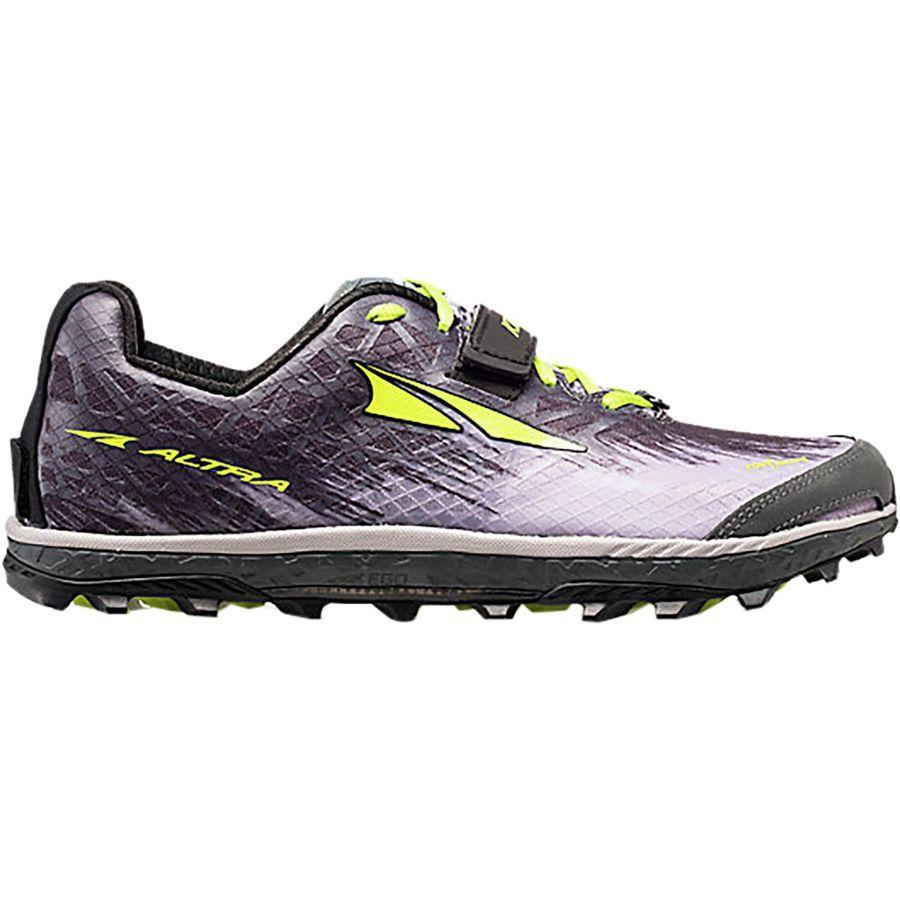 (取寄)アルトラ メンズ キング MT 1.5トレイル ランニングシューズ Altra Men's King MT 1.5 Trail Running Shoe Gray/Lime