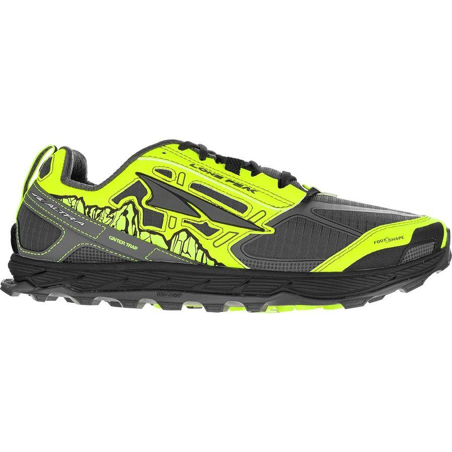 (取寄)アルトラ メンズ ローン ピーク 4.0トレイル ランニングシューズ Altra Men's Lone Peak 4.0 Trail Running Shoe Gray/Yellow