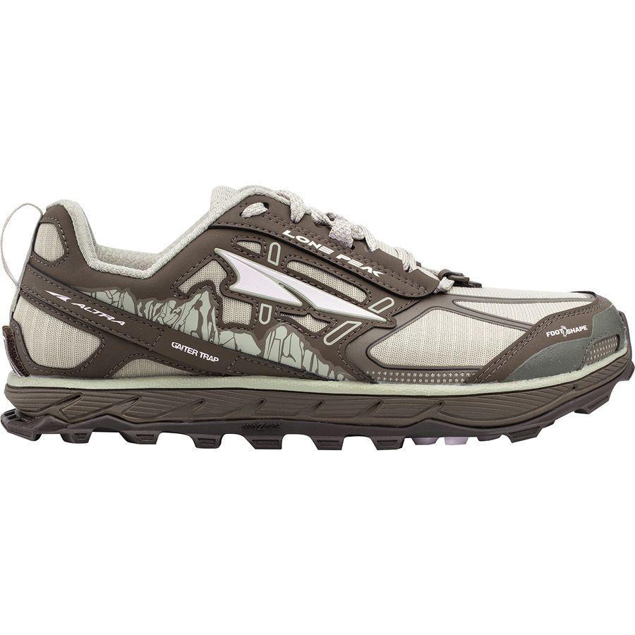 (取寄)アルトラ レディース ローン ピーク 4.0トレイル ランニングシューズ Altra Women Lone Peak 4.0 Trail Running Shoe Gray