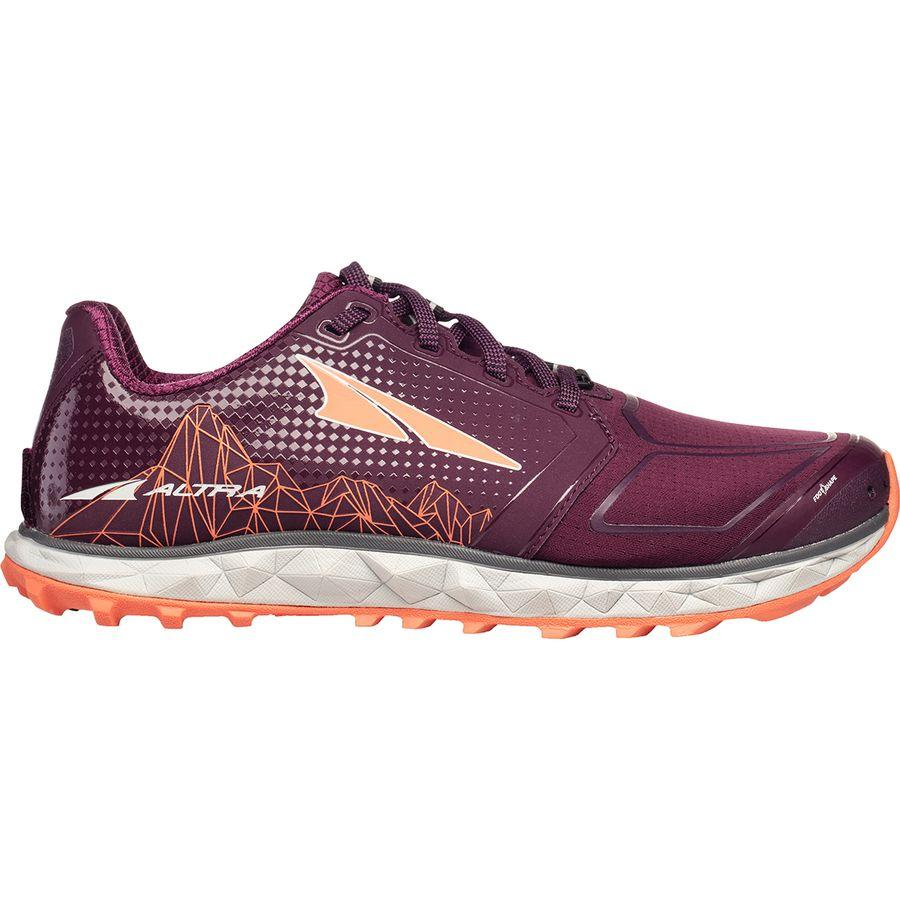 【クーポンで最大2000円OFF】(取寄)アルトラ レディース ス ペリオル 4.0トレイル ランニングシューズ Altra Women Superior 4.0 Trail Running Shoe Plum