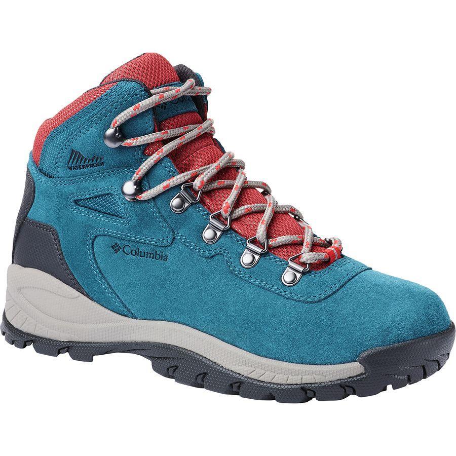 (取寄)コロンビア レディース ニュートン リッジ プラス アンプド ハイキング ブーツ Columbia Women Newton Ridge Plus Amped Hiking Boot Aegean Blue/Cherrybomb