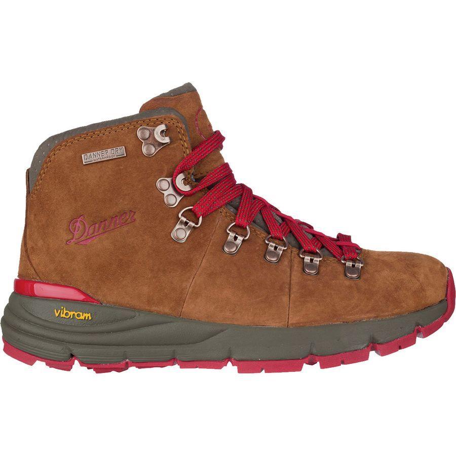 (取寄)ダナー レディース マウンテン 600 ハイキング ブーツ Danner Women Mountain 600 Hiking Boot Brown/Red