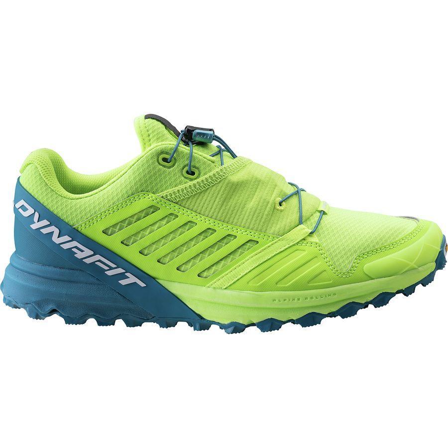(取寄)ディナフィット メンズ アルパイン プロ トレイル ランニングシューズ Dynafit Men's Alpine Pro Trail Running Shoe Fluo Yellow/Mykonos Blue