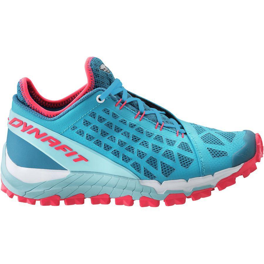 (取寄)ディナフィット レディース トレイルブレーカー エボ トレイル ランニングシューズ Dynafit Women Trailbreaker Evo Trail Running Shoe Mykonos Blue/Fluo Pink