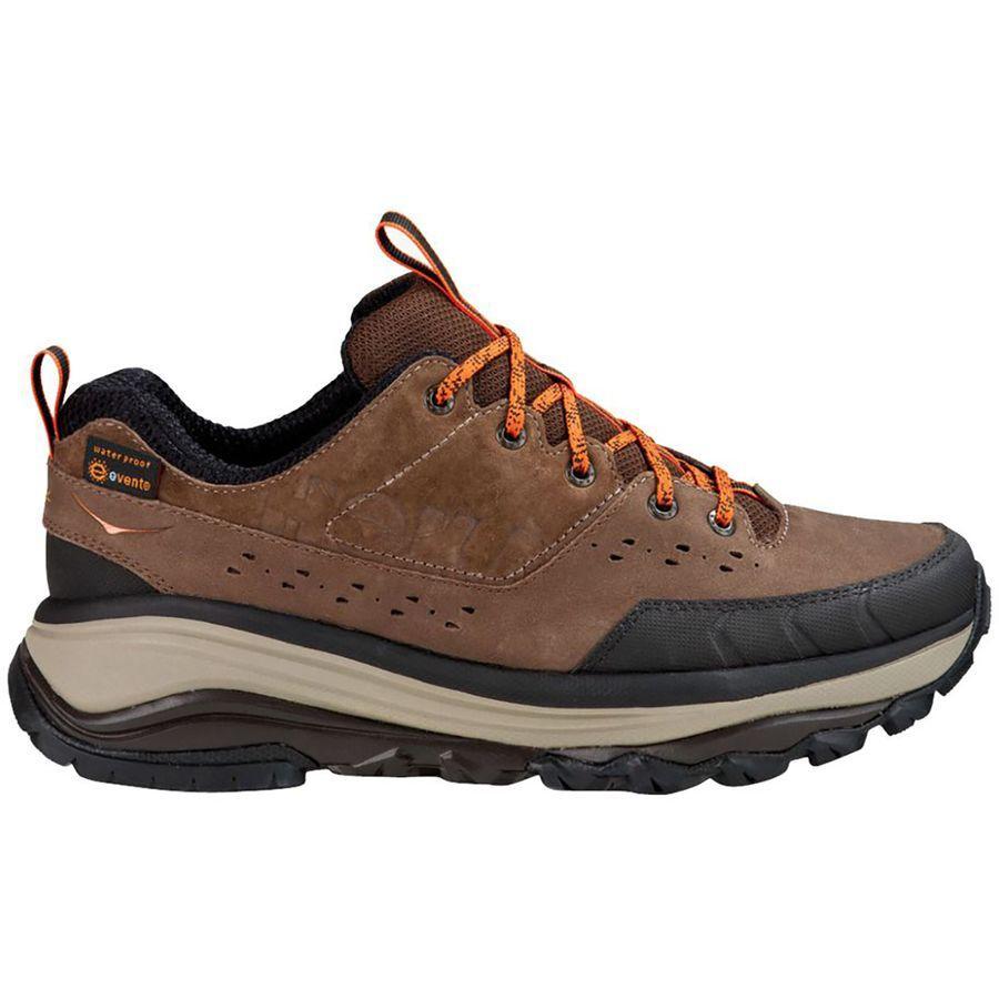 (取寄)ホカオネオネ メンズ トーア サミット WP ハイキングシューズ Hoka One One Men's HOKA ONE ONE Tor Summit WP Hiking Shoe Brown/Burnt Orange
