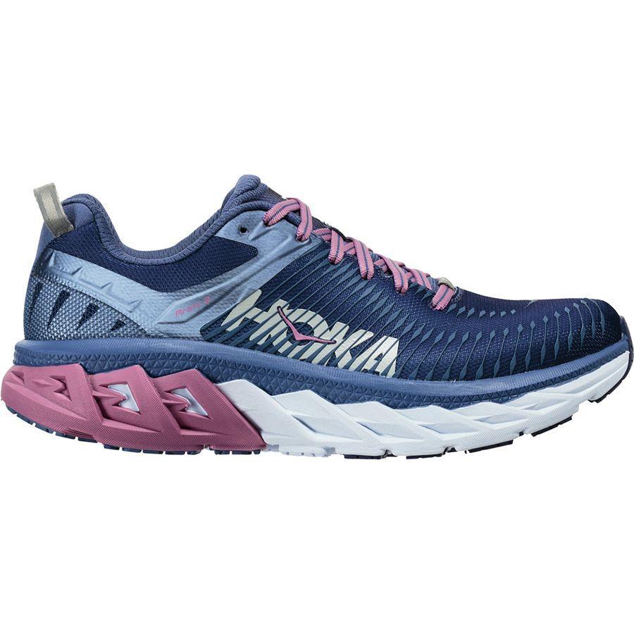 (取寄)ホカオネオネ レディース アラヒ 2 ランニングシューズ Hoka One One Women HOKA ONE ONE Arahi 2 Running Shoe Marlin/Blue Ribbon