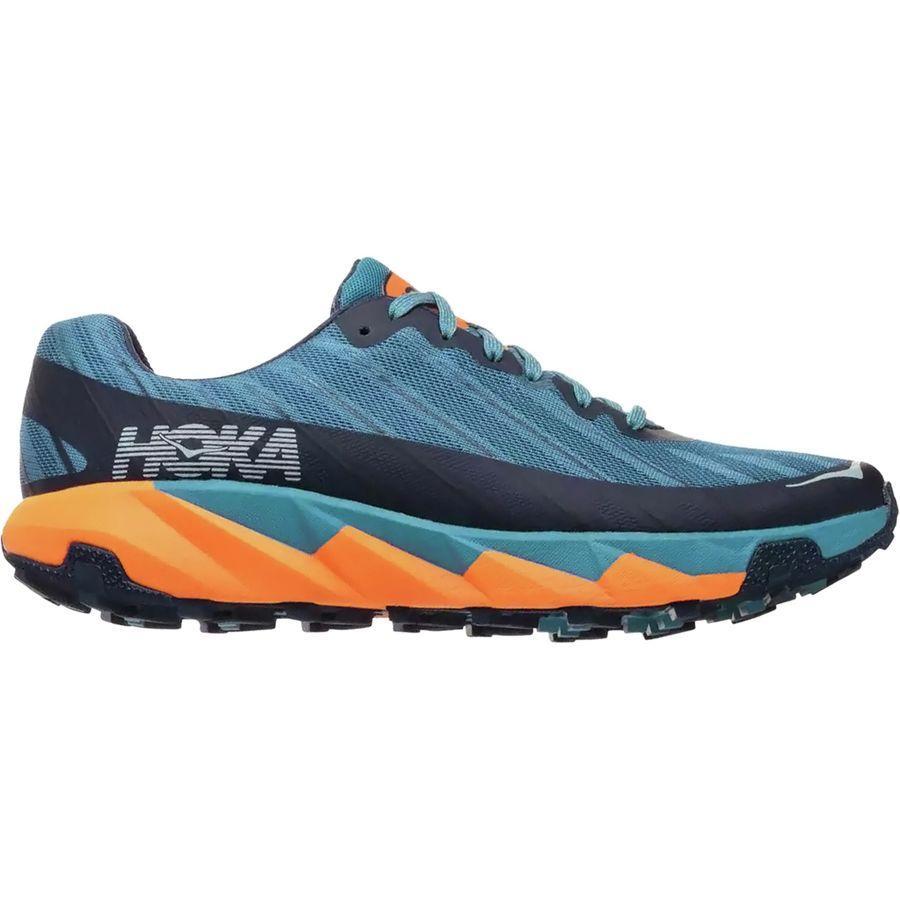 (取寄)ホカ オネ オネ メンズ トレント トレイル ランニングシューズ HOKA ONE ONE Men's Torrent Trail Running Shoe Storm Blue/Black Iris
