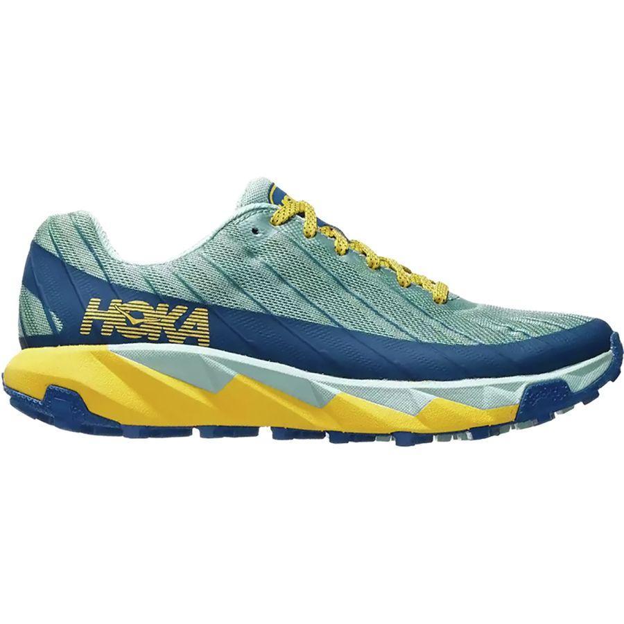 (取寄)ホカ オネ オネ レディース トレント トレイル ラン シューズ HOKA ONE ONE Women Torrent Trail Run Shoe Lichen/Seaport