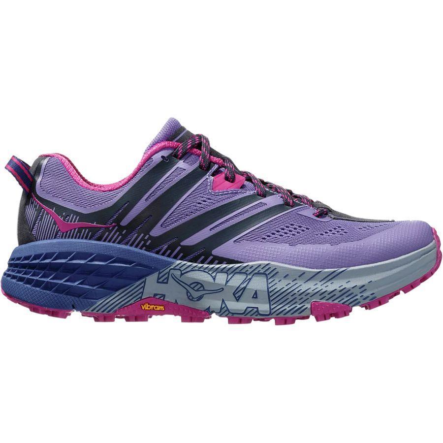 (取寄)ホカ オネ オネ レディース スピードゴート 3トレイル ランニングシューズ HOKA ONE ONE Women Speedgoat 3 Trail Running Shoe Paisley Purple/Ebony
