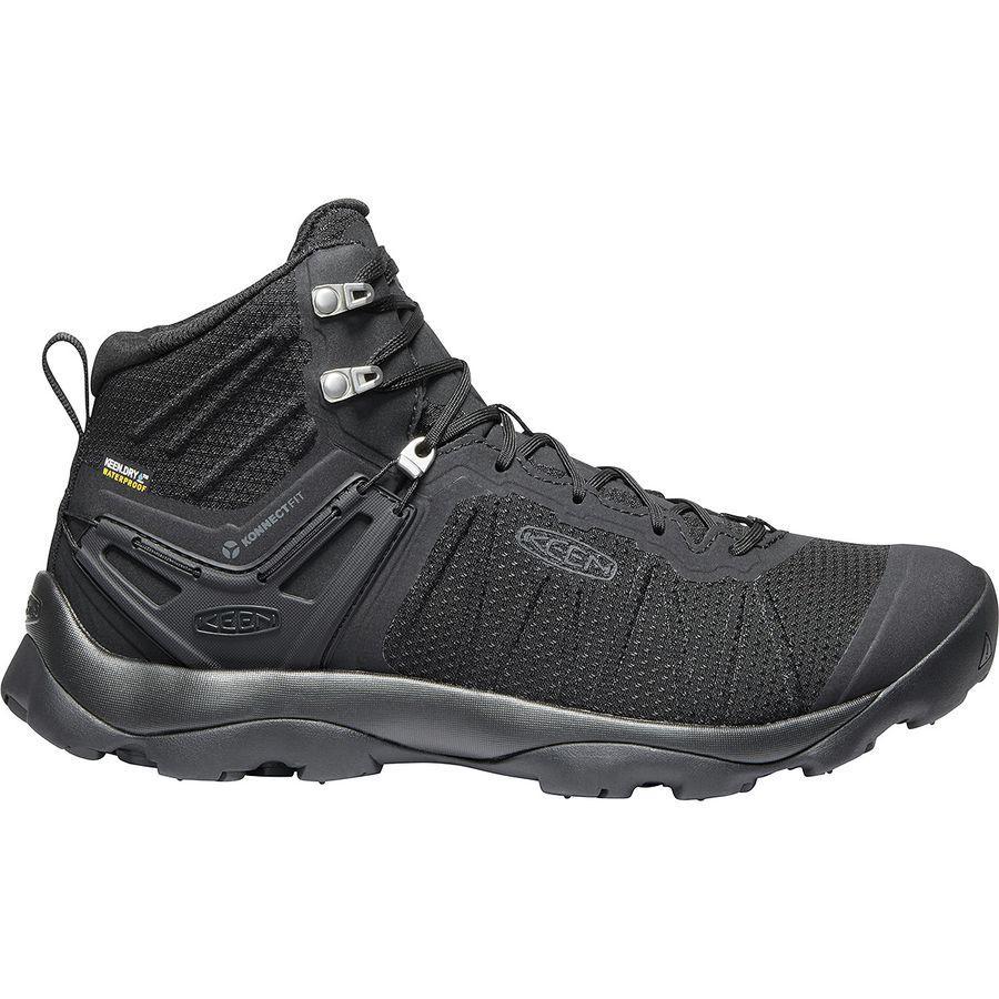 (取寄)キーン メンズ ベンチャー ミッド ブーツ KEEN Men's Venture Mid Boot Black/Black