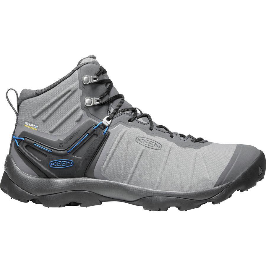 (取寄)キーン メンズ ベンチャー ミッド ブーツ KEEN Men's Venture Mid Boot Steel Grey/Magnet