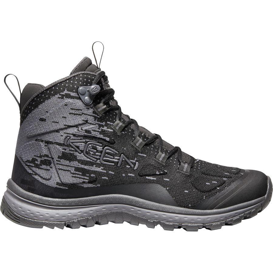 (取寄)キーン レディース テラドーラ エボ ミッド ハイキング ブーツ KEEN Women Terradora Evo Mid Hiking Boot Black/Magnet