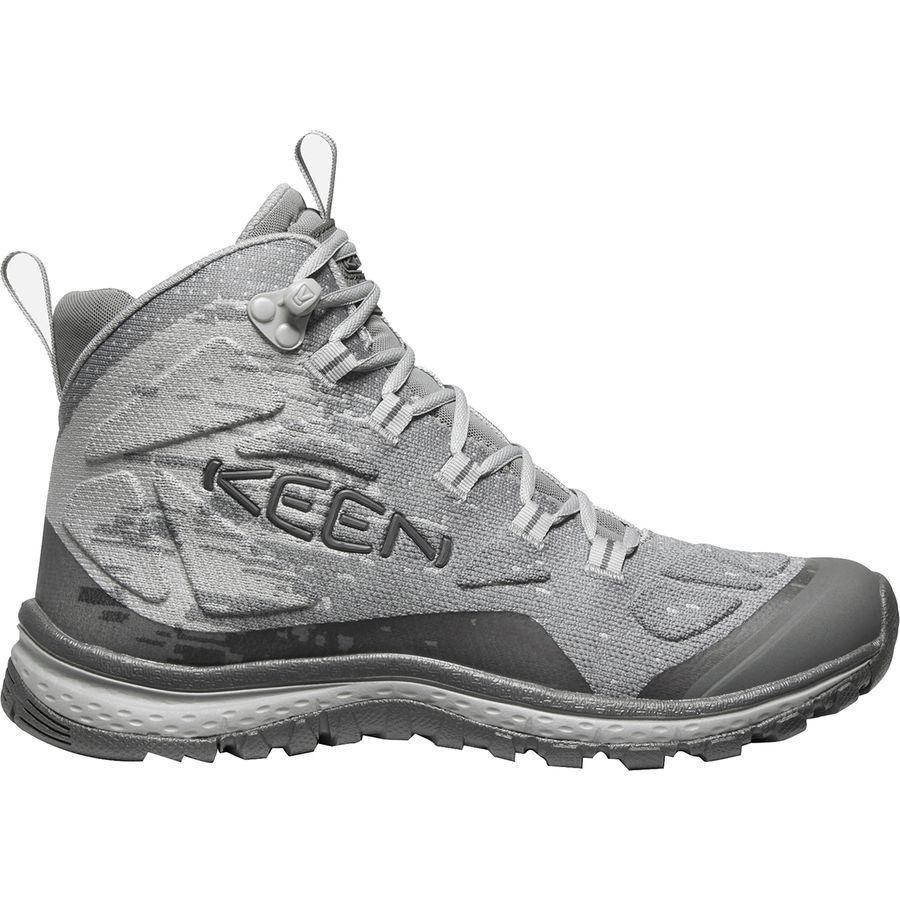 (取寄)キーン レディース テラドーラ エボ ミッド ハイキング ブーツ KEEN Women Terradora Evo Mid Hiking Boot Frost Grey/Paloma