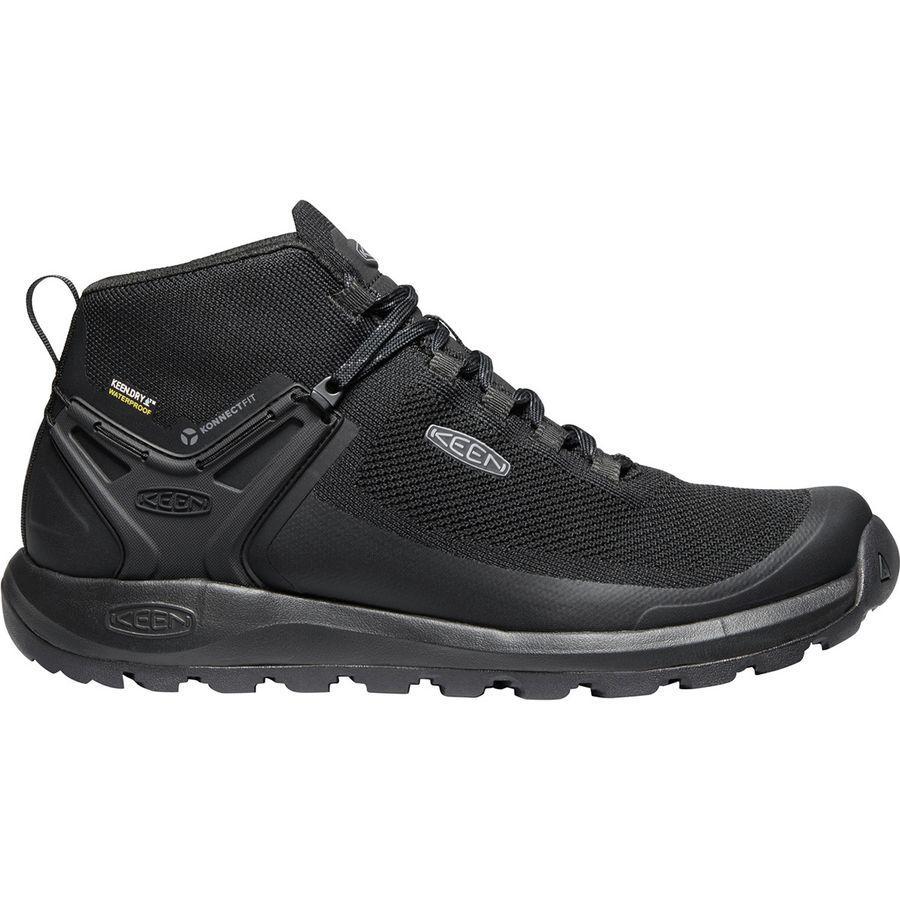(取寄)キーン メンズ シチズン エボ ミッド ブーツ KEEN Men's Citizen Evo Mid Boot Triple Black/Black