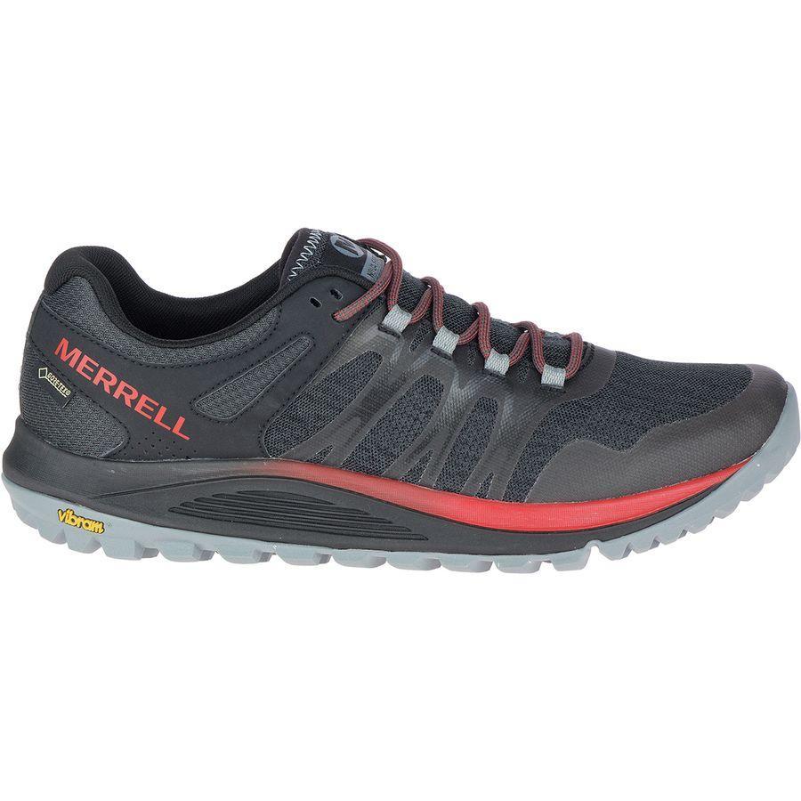(取寄)メレル メンズ ノヴァ Gtx トレイル ランニングシューズ Merrell Men's Nova GTX Trail Running Shoe Black