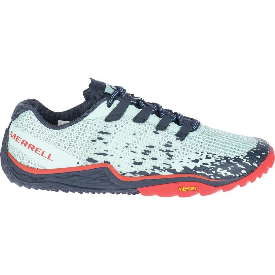 (取寄)メレル レディース トレイル グローブ 5 ランニングシューズ Merrell Women Trail Glove 5 Running Shoe Aqua