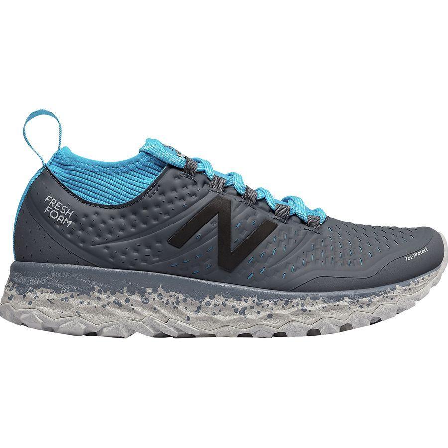 (取寄)ニューバランス レディース フレッシュ フォーム イエロ トレイル ランニングシューズ New Balance Women Fresh Foam Hierro Trail Running Shoe Thunder