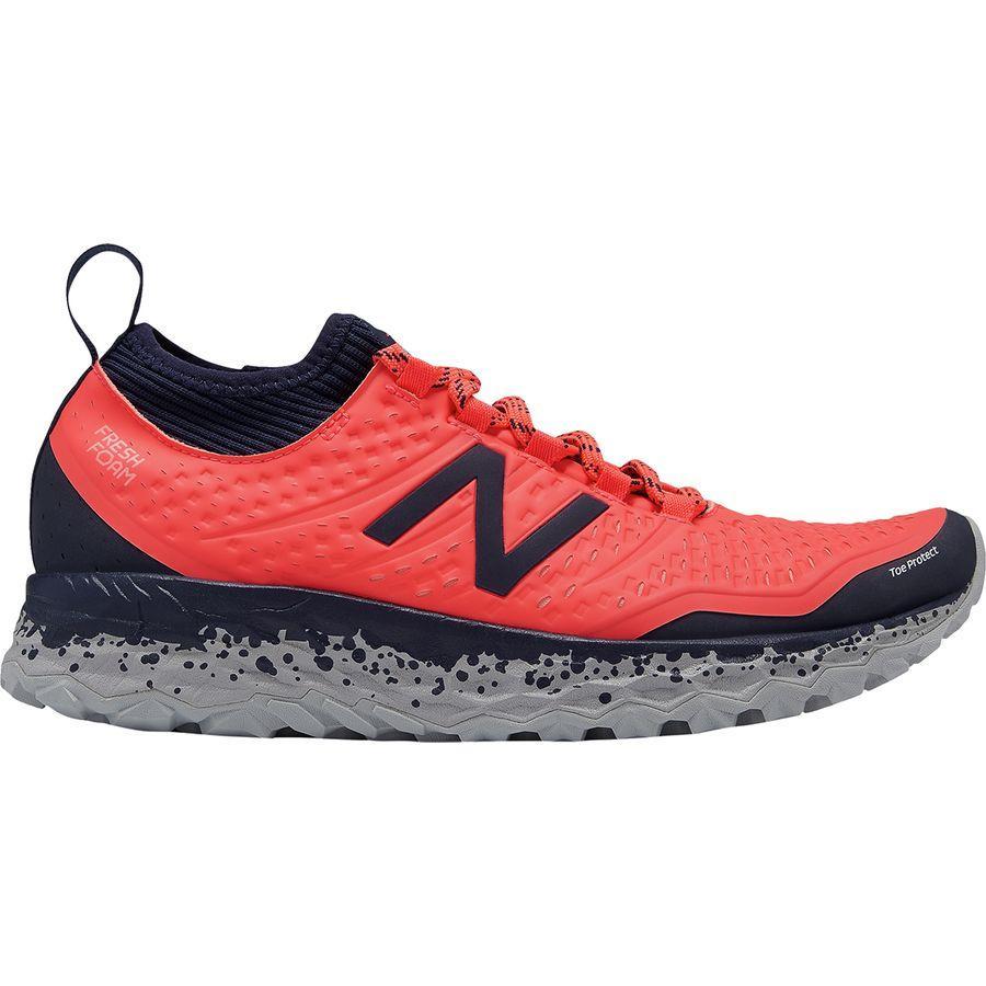 (取寄)ニューバランス レディース フレッシュ フォーム イエロ トレイル ランニングシューズ New Balance Women Fresh Foam Hierro Trail Running Shoe Vivid Coral