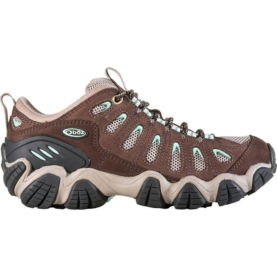 (取寄)オボズ レディース ソートゥース ハイキングシューズ Oboz Women Sawtooth Hiking Shoe Chestnut/Beach Glass