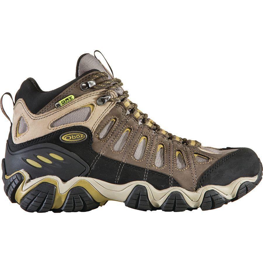(取寄)オボズ メンズ ソートゥース ミッド B-Dry ハイキング ブーツ Oboz Men's Sawtooth Mid B-Dry Hiking Boot Olive