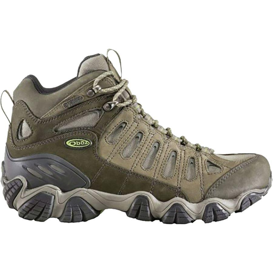 (取寄)オボズ メンズ ソートゥース ミッド B-Dry ハイキング ブーツ Oboz Men's Sawtooth Mid B-Dry Hiking Boot Umber