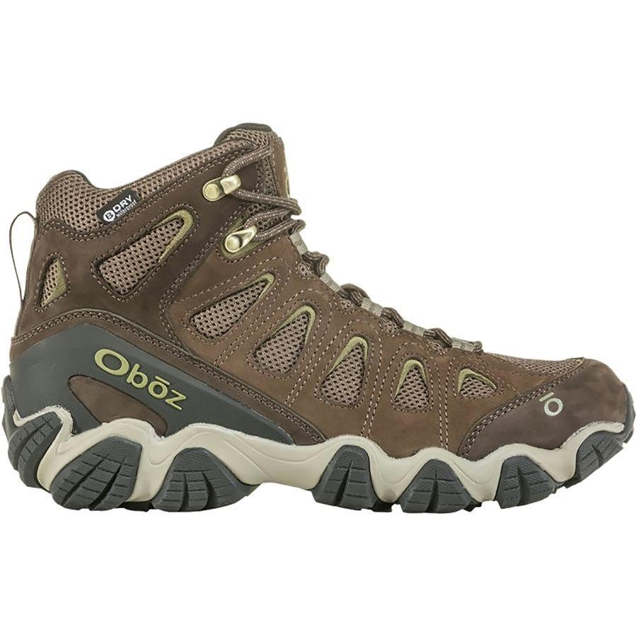 (取寄)オボズ メンズ ソートゥース 2 ミッド B-Dry ハイキング ブーツ Oboz Men's Sawtooth II Mid B-Dry Hiking Boot Canteen/Mayfly Green