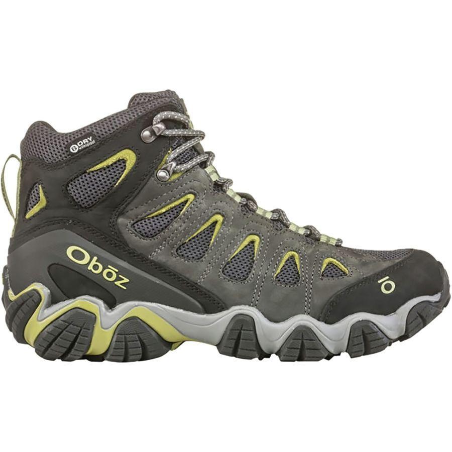 (取寄)オボズ メンズ ソートゥース 2 ミッド B-Dry ハイキング ブーツ Oboz Men's Sawtooth II Mid B-Dry Hiking Boot Dark Shadow.Woodbine Green