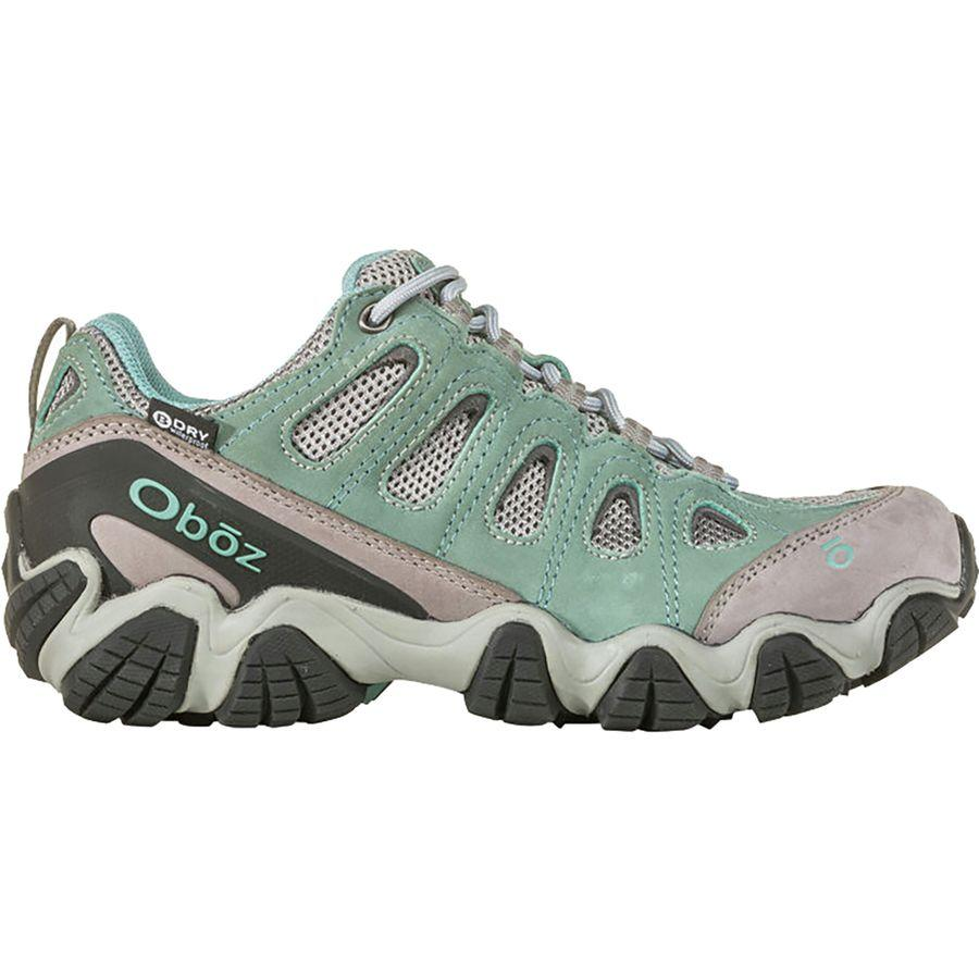 (取寄)オボズ レディース ソートゥース 2 ロウ B-Dry ハイキングシューズ Oboz Women Sawtooth II Low B-Dry Hiking Shoe Mineral Blue