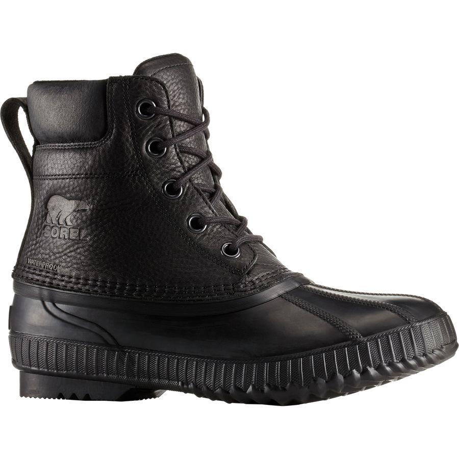 (取寄)ソレル メンズ シャイアン 2 プレミアム ブーツ Sorel Men's Cheyanne II Premium Boot Black/Black