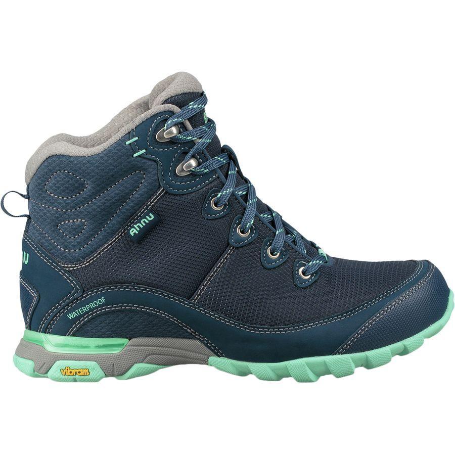 (取寄)テバ レディース X アニュ シュガーパイン 2 WP リップストップ ハイキング ブーツ Teva Women x Ahnu Sugarpine II WP Ripstop Hiking Boot Insignia Blue
