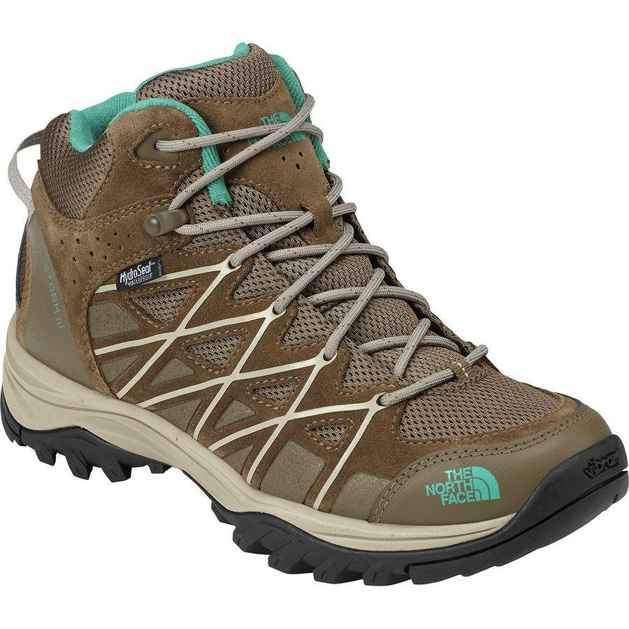 (取寄)ノースフェイス レディース ストーム 3 ミッド ハイキング ブーツ The North Face Women Storm III Mid Hiking Boot Cub Brown/Crockery Beige