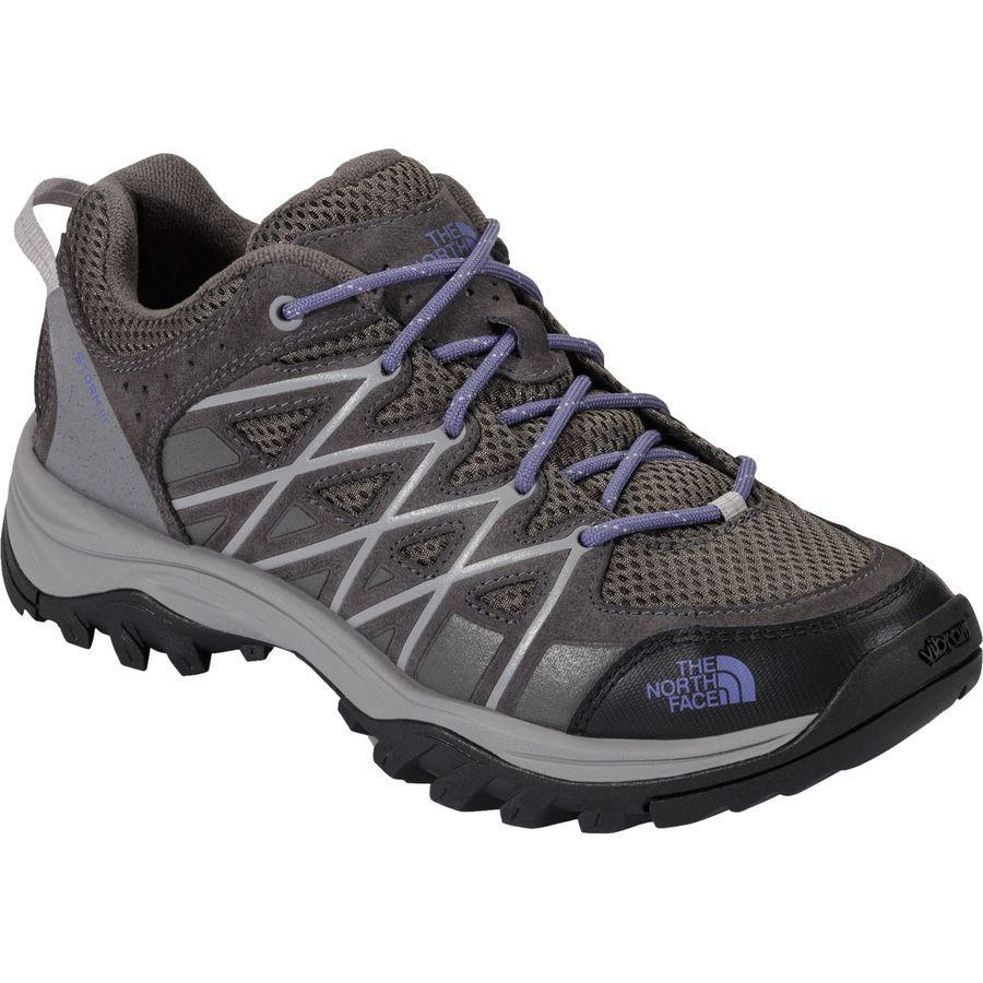 (取寄)ノースフェイス レディース ストーム 3 ハイキングシューズ The North Face Women Storm III Hiking Shoe Dark Gull Grey/Marlin Blue