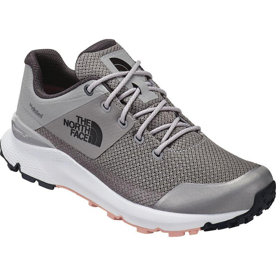 (取寄)ノースフェイス レディース ヴァルス WP ハイキングシューズ The North Face Women Vals WP Hiking Shoe Meld Grey/Pink Salt
