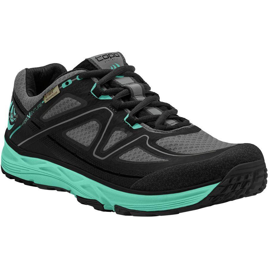 (取寄)トポアスレチック レディース ハイドロベンチャー トレイル ランニングシューズ Topo Athletic Women Hydroventure Trail Running Shoe Black/Turquoise