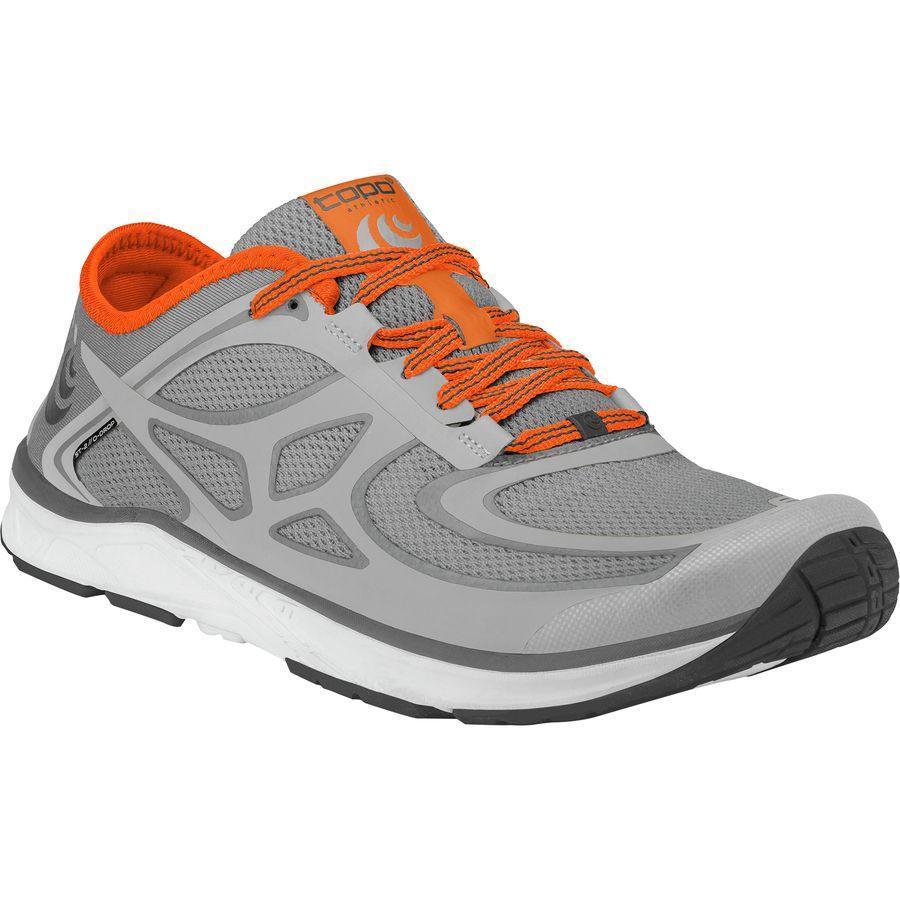 (取寄)トポアスレチック メンズ ST-2 ランニングシューズ Topo Athletic Men's ST-2 Running Shoe Grey/Orange