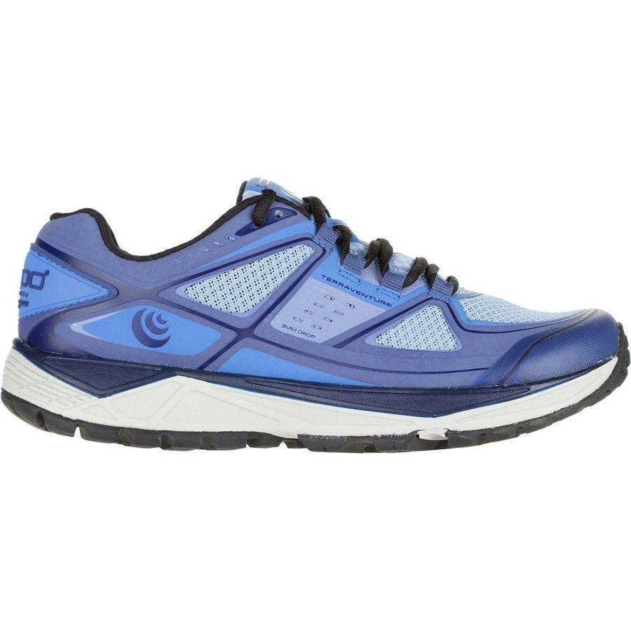 (取寄)トポアスレチック レディース Terraventure トレイル ランニングシューズ Topo Athletic Women Terraventure Trail Running Shoe Light Blue/Sapphire