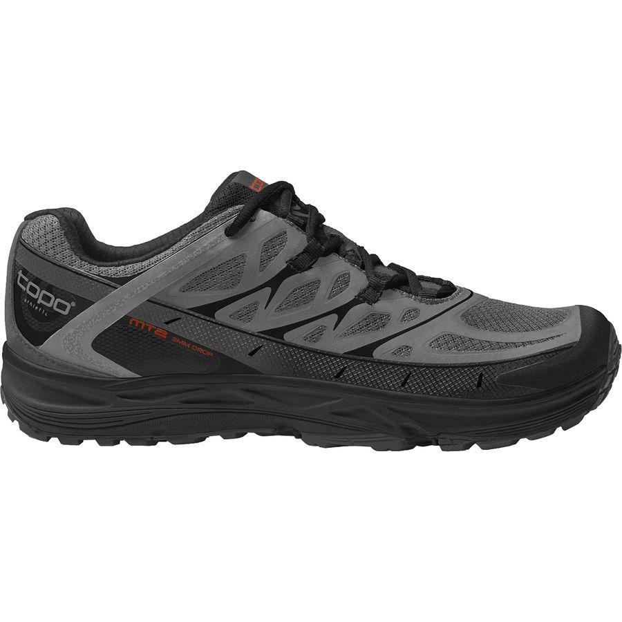(取寄)トポアスレチック メンズ MT-2トレイル ランニングシューズ Topo Athletic Men's MT-2 Trail Running Shoe Grey/Black