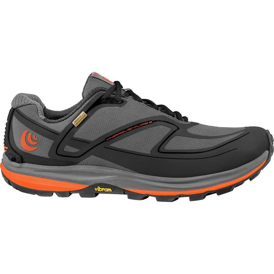 (取寄)トポアスレチック レディース ハイドロベンチャー 2 トレイル ランニングシューズ Topo Athletic Women Hydroventure 2 Trail Running Shoe Charcoal/Tangerine