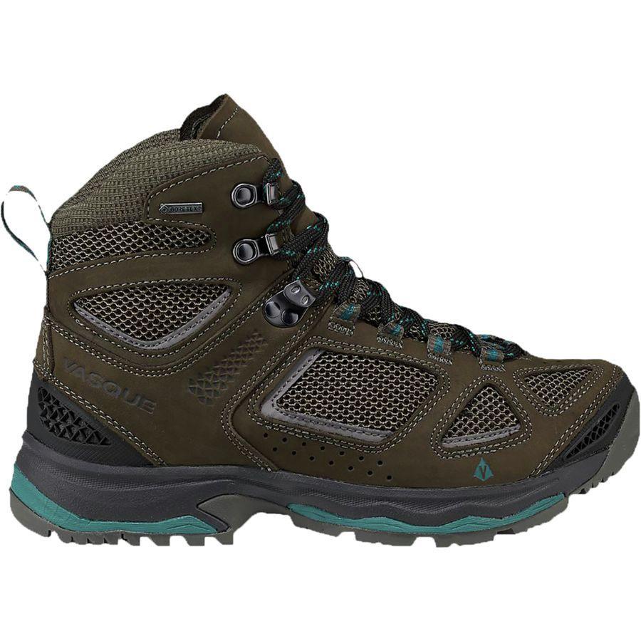 (取寄)バスク レディース ブリーズ 3 Gtx ハイキング ブーツ Vasque Women Breeze III GTX Hiking Boot Brown Olive/Shaded Spruce